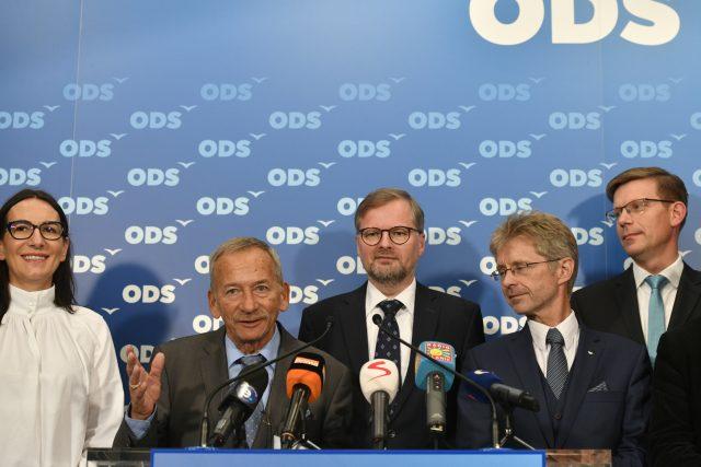 Tisková konference ODS po 2. kole senátních voleb
