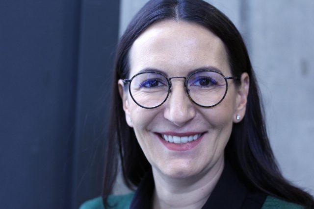 Alexandra Udženija, první místopředsedkyně ODS (od ledna 2016)