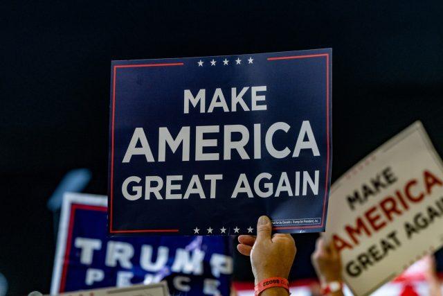 Předvolební kampaň Donalda Trumpa