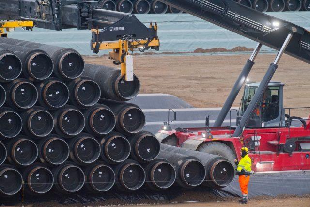 Výstavba plynovodu Nord Stream 2 pokračuje