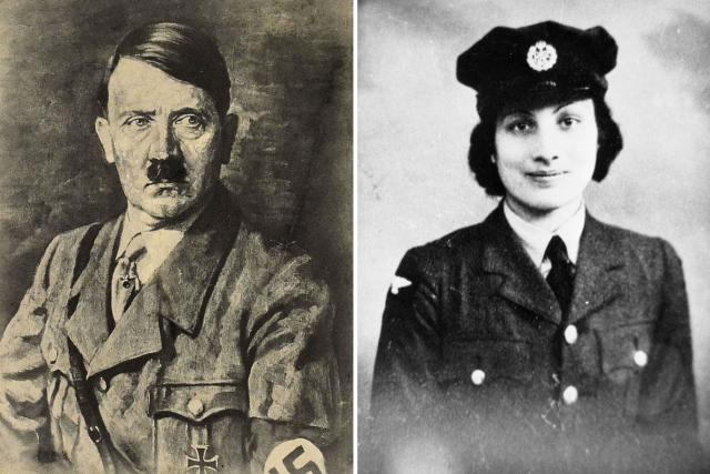 Adolf Hitler a Núr Anájat Kchán | foto: Adrian Grycuk,  Wikimedia Commons,  Imperial War Museum London,  CC BY-SA 3.0