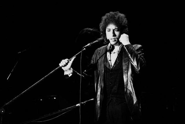 Bob Dylan v Paříži,  1978 | foto: Profimedia