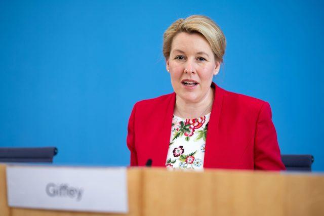 Franziska Giffeyová odstoupila z postu ministryně pro rodinu | foto: Fotobanka Profimedia
