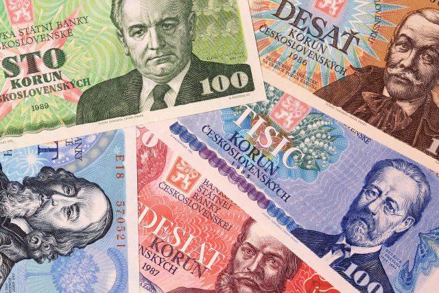 Československé historické bankovky