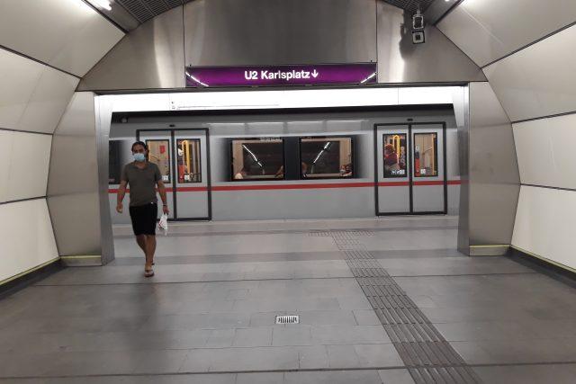 Vídeň,  metro | foto: Štěpán Sedláček,  Český rozhlas