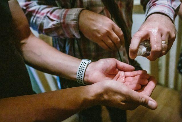 Dezinfekce rukou