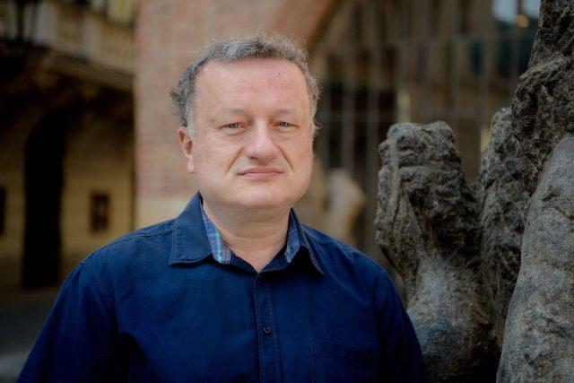 Biochemik Jan Konvalinka