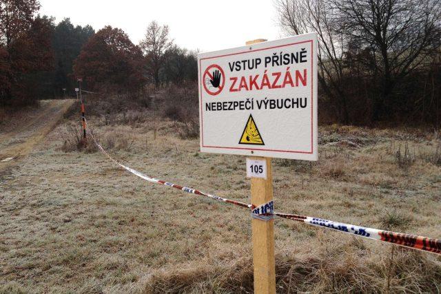 Bezpečnostní zóna u Vrbětic (2014 až 2020)