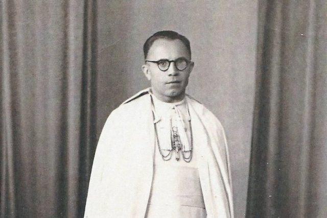 Augustin Machalka po zvolení opatem