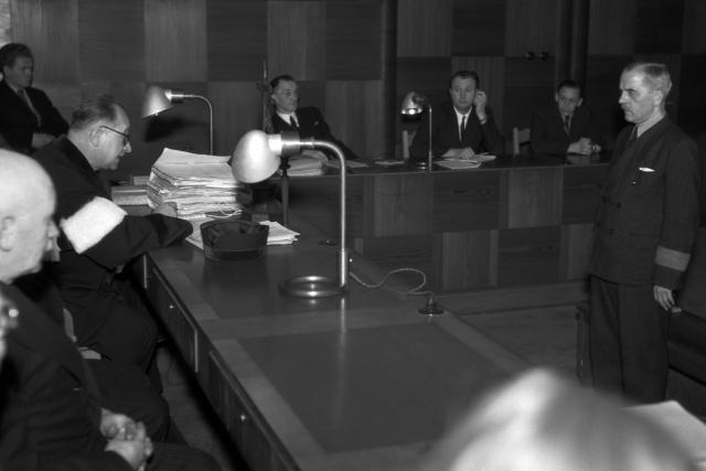 Josef ježek před Národním soudem