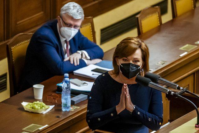 Ministryně Alena Schillerová