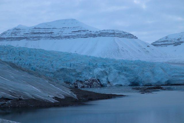Ledovec panorama