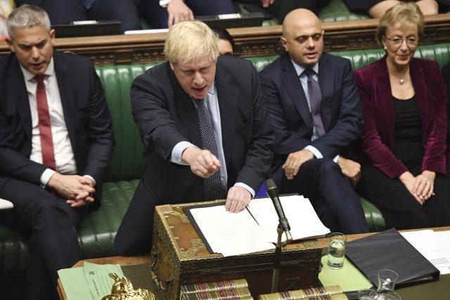 Boris Johnson v Dolní sněmovně
