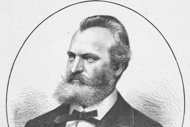 Josef Zítek roku 1881 | foto: Josef Mukařovský,  Wikimedia Commons,  CC0 1.0
