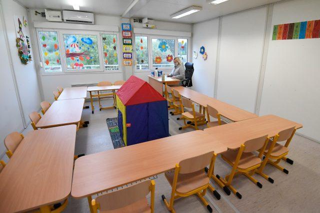 Škola bez žáků během koronavirové pandemie