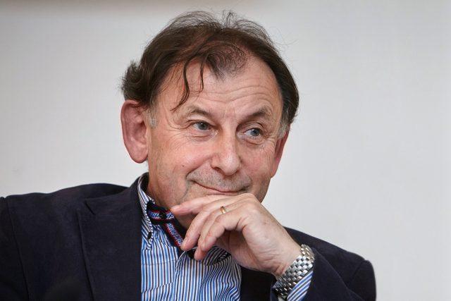Michael Žantovský   foto: Ondřej Němec,  Knihovna Václava Havla