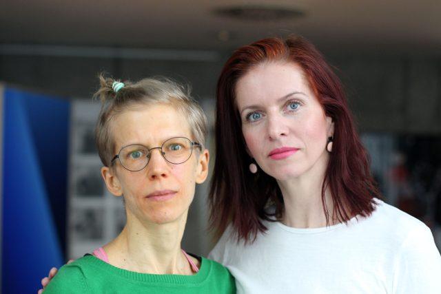 socioložka Tereza Stöckelová a Nora Fridrichová, redaktorka České televize