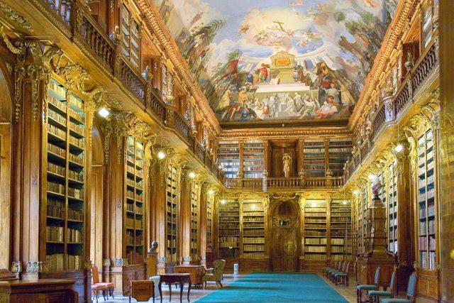 Filozofický sál, knihovna Strahovského kláštera