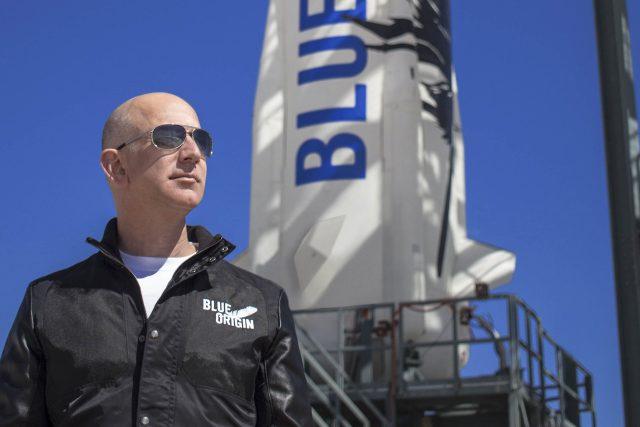Jeff Bezos se chystá na let do vesmíru