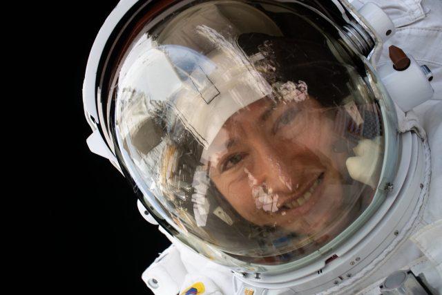 Americká kosmonautka Christina Kochová