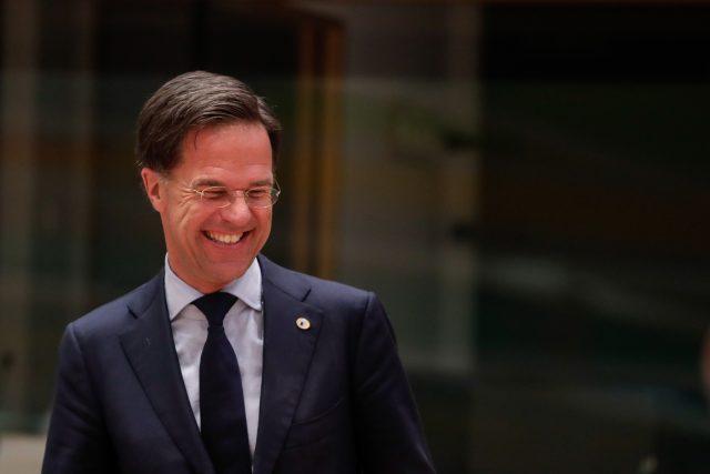 Nizozemský premiér Mark Rutte