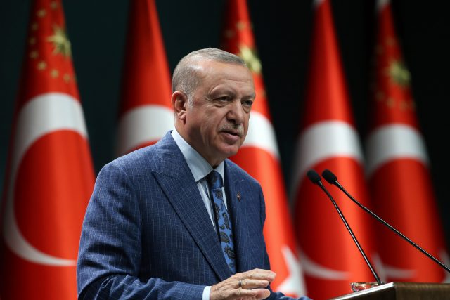 Recep Tayyip Erdogan, turecký prezident