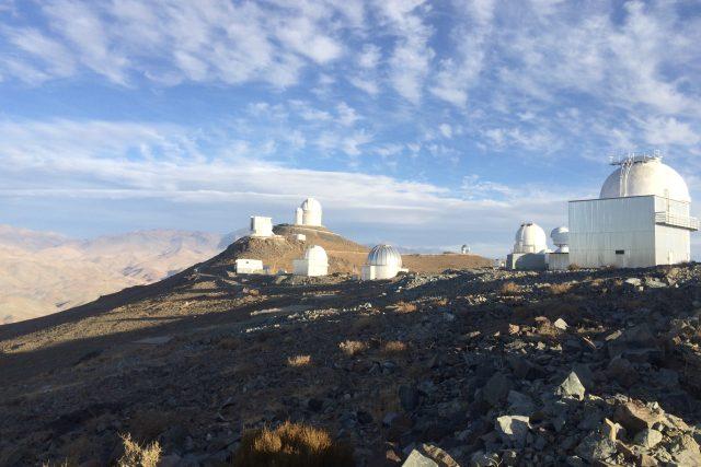 Observatoř v Chile