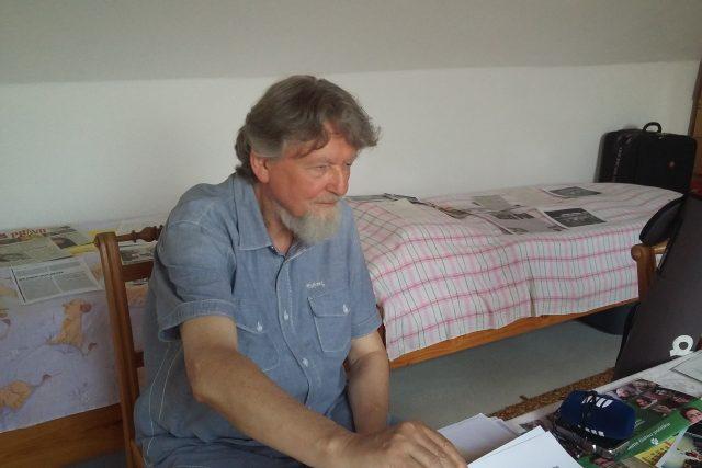 Milan Horáček má o svém životě nespočet dokumentů