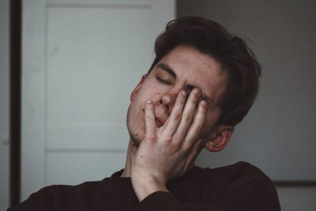 Deprese; únava (ilustrační foto)