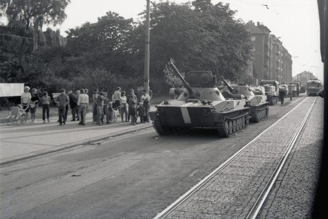 Ostrava v srpnu 1968