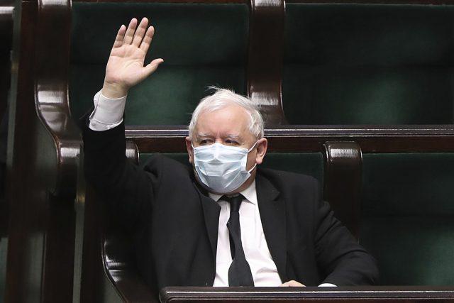 Jaroslaw Kaczynski   foto: Czarek Sokolowski,  ČTK/AP