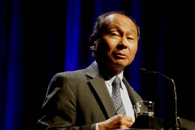 Americký politický filozof Francis Fukuyama