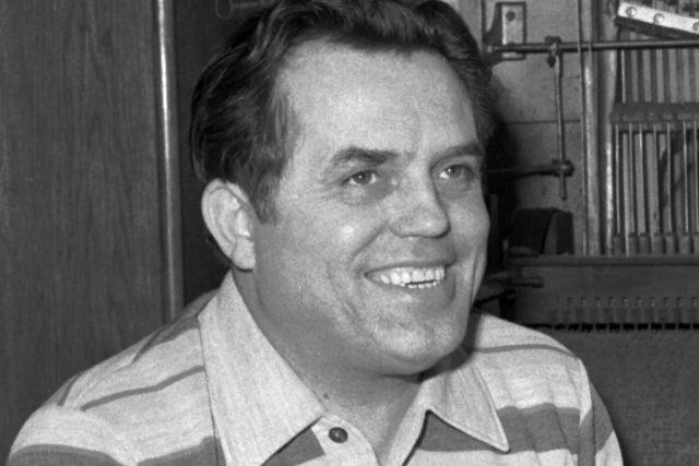 Herec Antonín Jedlička  (1923 – 1993),  který byl známý pod uměleckým pseudonymem Strýček Jedlička | foto: Zuzana Humpálová,  ČTK