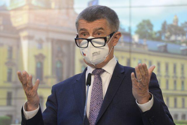 Premiér Andrej Babiš  (ANO) | foto: Kateřina Šulová,  ČTK