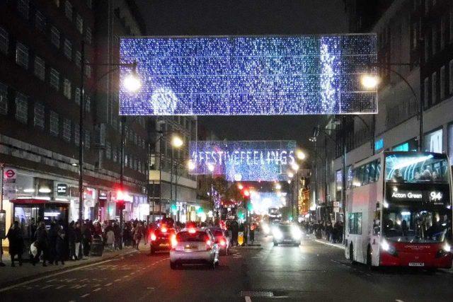 Oxford Street v Londýně