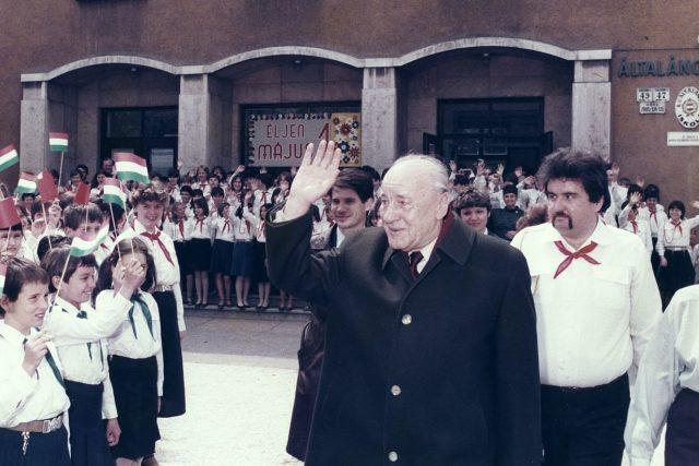 János Kádár v roce 1985