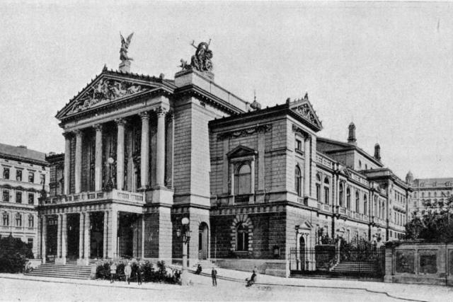 Nové německé divadlo v Praze, nyní Státní opera