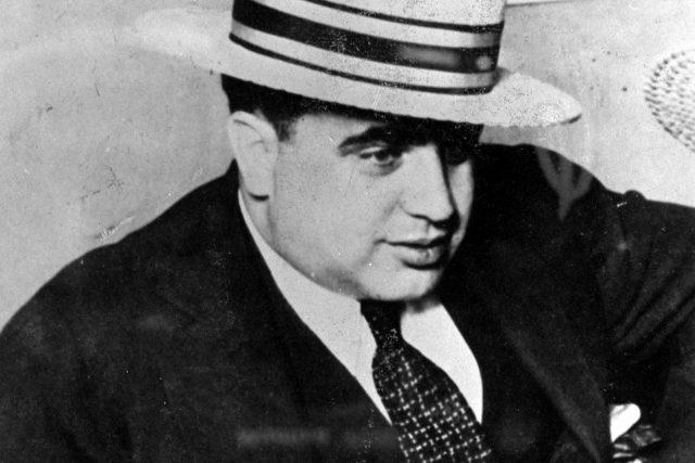 Al Capone na snímku z roku 1931