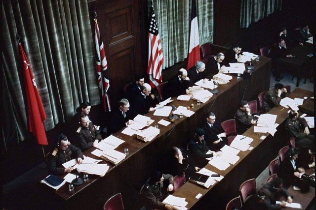 Norimberský proces položil základ mezinárodnímu trestnímu právu