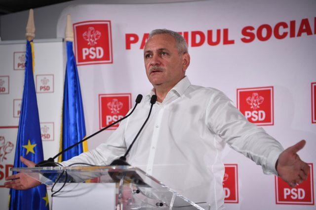 Liviu Dragnea čelil obvinění z fiktivního zaměstnávání lidí, volebních podvodů a zneužití 20 milionů eur z unijních dotací