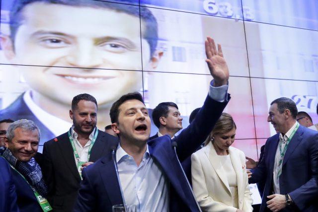 Herec Volodomyr Zelenskyj, nový ukrajinský prezident