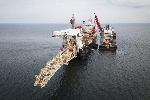 Nord Stream 2 a pokládka potrubí ve Finsku