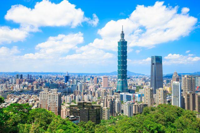 Hlavní město Tchaj-wanu Tchaj-pej