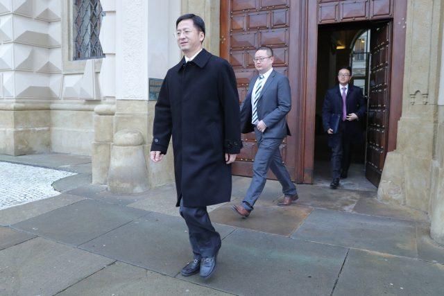 Velvyslanec Čínské lidové republiky v Praze Čang Ťien-min