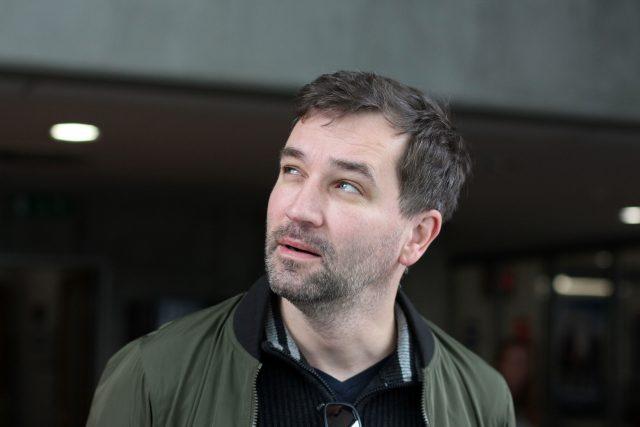 Ondřej Sokol, moderátor, herec, režisér, překladatel a umělecký šéf Činoherního klubu
