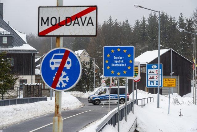 Hranice se Spolkovou republikou Německé (ilustrační foto)