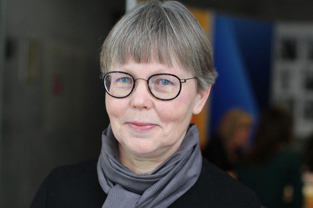 Ředitelka Národní galerie Anne-Marie Nedoma