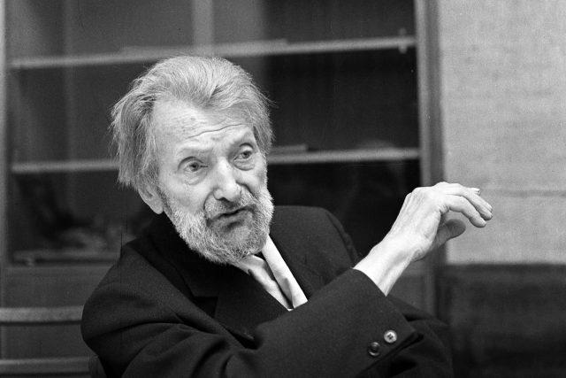 Josef Štefan Kubín v roce 1963 v den svých 99. narozenin