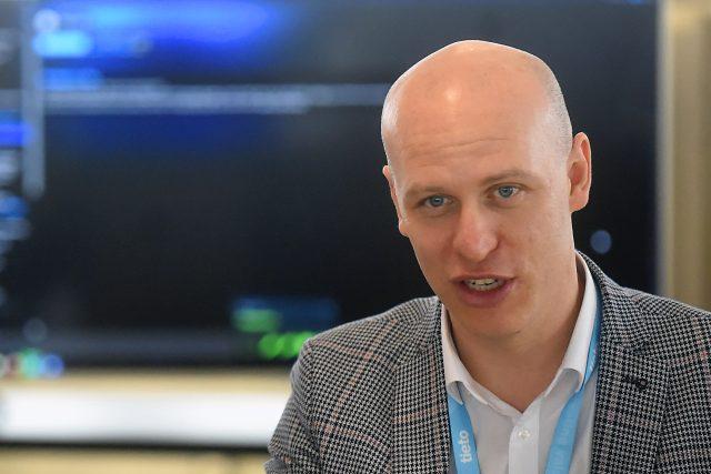 Petr Lukasík,  generální ředitel Tieto Czech | foto: Jaroslav Ožana,  ČTK