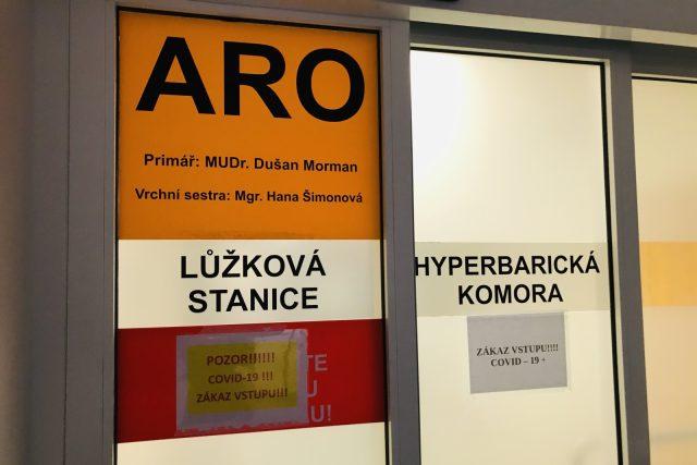 Oddělení ARO liberecké krajské nemocnice